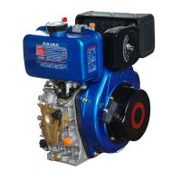 Buy cheap Portable 408cc Air Cooled Diesel Engine With Pressure Splashed Lubricating from wholesalers
