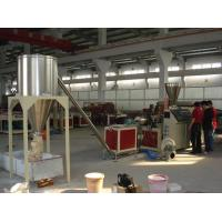 Wholesale 350kg/hgranules pvc surface hot cutting pelletizer machinery/granulator/pvc pelletizer from china suppliers