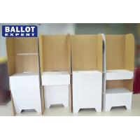 Wholesale Portable Voting Booth Tri Wall Outdoor Floor Stand from china suppliers