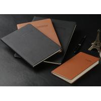 China A5/A4 Soft cover PU leather Notebook (red, black, blue...) with super quality on sale