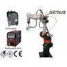 Aluminum Arc Welding Robot Cell , Mig Welding Equipment Workstation for sale