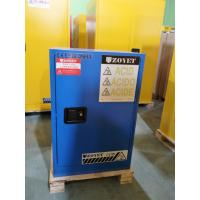 Wholesale Blue Corrosive Chemical Acid Storage Cabinet Flammable Locker Single Door from china suppliers