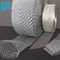 Wholesale 304 316 321 Stainless Steel Knitted Wire Mesh (S.S. Knitted wire mesh) from china suppliers