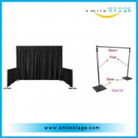 Wholesale low price used portable adjustable trade show booth pipe and draping for events from china suppliers