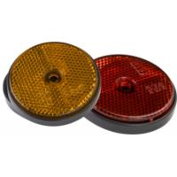 Wholesale Round Rear Trailer Reflectors Amber Side Safety Trailer Light Reflectors from china suppliers