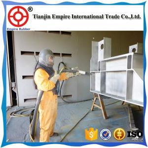 Wholesale 50mm 70mm 100mm big diameter high pressure sandblast hose High quality sandblast concrete pump rubber hose from china suppliers