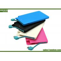Wholesale Easy Carry Ultra Slim Power Bank 2500mAh Plastic Material 50g Net Weight from china suppliers