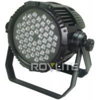 Quality Outdoor DMX Control LED CT 54 x 3w LED Par Cans Color Temperature 3200K - 6300K for sale