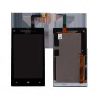 China HTC LCD Screen For 8X LCD Digitizer Screen Black 4.3 Inches on sale