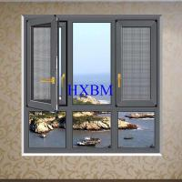 Wholesale Thermal Insulation French aluminum Casement Windows With Grill Water Resistance from china suppliers