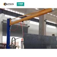Wholesale Energy Saving Vacuum Hoist Lifting Systems , Glass Vacuum Lifter Jib Crane from china suppliers
