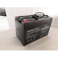 China Motorcycle Agm Gel Deep Cycle Battery / Gel Valve Regulated Sealed Battery on sale
