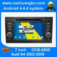 Wholesale Ouchuangbo Audi A6 1997-2004 car stereo gps radio with SD 4 core  capacitive screen S160 from china suppliers