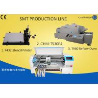 Wholesale Manual SMT Production Line Solder Paste Stencil Printer , PCB Assembly Line Batch production from china suppliers