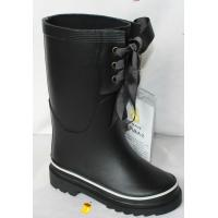 China rubber  rain boots,black ,boys on sale