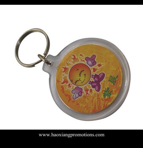 Quality blank acrylic keychain clear acrylic photo keychain clear acrylic keychains wholesale for sale
