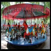 deluxe mechanical carousel horse ride fair rides for sale with professional design for sale
