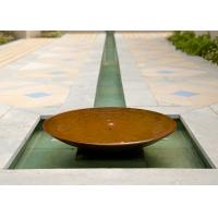 Wholesale Garden Decoration Large Bowl Water Feature / Corten Steel Water Bowl Garden Feature from china suppliers