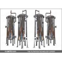Buy cheap Melt blown pp stainless steel filter housing / water filter housing from wholesalers
