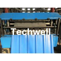 Wholesale Manual / Automatical Type Double Roof Roll Forming Machine For Metal Roofing, Sheet Roof from china suppliers
