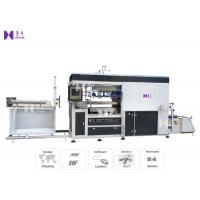 Full Auto Vacuum Blister Forming Machine For PVC Tray Lids Forming 25-45 Pcs /
