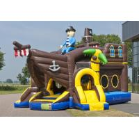 Wholesale Pirate Ballcanon Lovely Inflatable Combo 2 In 1 Castle Bounce House With Slide from china suppliers