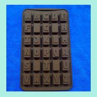 Wholesale letter shape silicone butter molds , round shape silicone cookie molds from china suppliers
