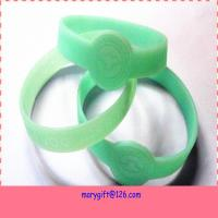 personalized watch shape silicone wristband unit for sale