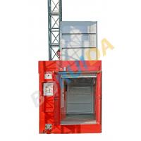 Buy cheap 3200kg Blue Twin Cage Industrial Lift with Hot Dipped Zinc , High Reliability from wholesalers