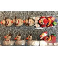 Wholesale Xmas duck toys set of Santa Duck with 3 baby reindeer ducks for Christmas duck promotion gift from china suppliers