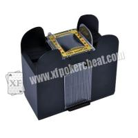 Wholesale Plastic 6 Deck Automatic Card Shuffler With One Camera For Baccarat Cheating from china suppliers