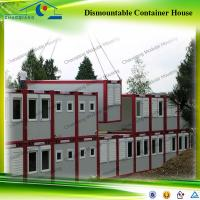China Hot Sale Flat Pack Modular Steel Frame Container House on sale
