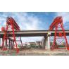 Buy cheap QM70T- 30M - 22M Bridge Construction Site Truss Double Girder Gantry Crane from wholesalers