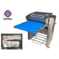 China Fully Automatic Pork Skin Remove Cutting Machine / Pig Meat Peeling Machine on sale