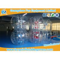 Wholesale Gaint Inflatable Bubble Ball Bumper Soccer Football With 0.7mm TPU Material from china suppliers