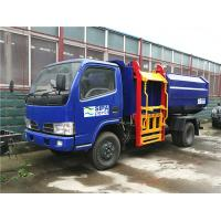 China Full Automatic Rubbish Collection Truck / Hydraulic Control Pick Up Garbage Truck for sale