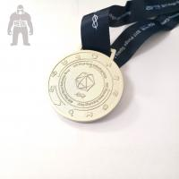Wholesale 3d Antique Metal Gold Medals Sports  Athletic Running Awarded 2mm  Thickness from china suppliers