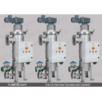 Buy cheap Automatic Self Cleaning Scraper Filter with stainless steel for viscous liquid filtration from wholesalers