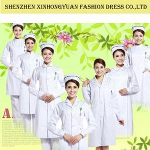 Wholesale 65% Polyester / 35% Cotton Women Medical Dress Uniform / Hospital Nurse  Uniform from china suppliers