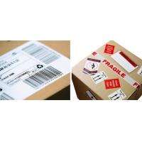 Wholesale Waterproof Logistic Labels , Custom Self Adhesive Barcode Labels ISO CE from china suppliers