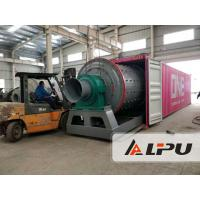Mining Ore Ball Mill / Gold Copper Iron Tin Manganese Lead Ball Mill Grinder for sale