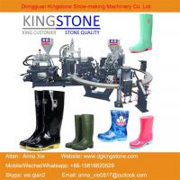 Wholesale Kingstone Machinery Manufacturer Rotary Gumboots Rain Boot Making Machine from china suppliers
