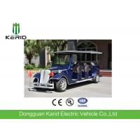 Wholesale Vintage Style Electric Shuttle Bus Sightseeing Car For 8 Passengers Anti - Fatigue from china suppliers