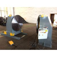 China Head / Tail Stock Pipe Welding Positioners , Welding Turn Table on sale