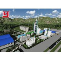 Energy Saving Rotary Kiln For Cement Manufacture , Rotary Kiln Cement Plant