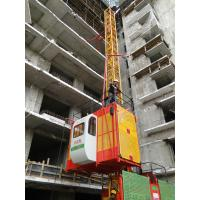 China 1 Ton SS100/100 Frequency Conversion Vertical Automatic Rack and Pinion Elevator 23.5m/min on sale