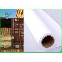 China 36 Inch × 150m 80gsm Plotter Paper Roll For Canon Printer Good Print Performance for sale