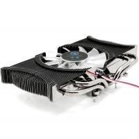 China 80mm low noise VGA Coolers for NVIDIA Geforce 6600 , CE ROHS Approvals on sale