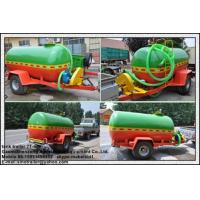 China 5000L single axle water tank trailer for sale