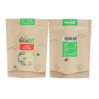 China China manufacturers Food grade custom  laminated  brown kraft paper ziplock bag with logo printing for snack for sale